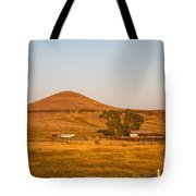 Country Farm In The Hills Tote Bag