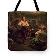 Country Festival Tote Bag by Ilya Efimovich Repin
