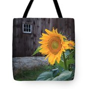 Country Flower Tote Bag