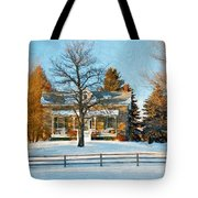 Country Home Impasto Tote Bag