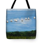 Country Home. Nice View. Tote Bag