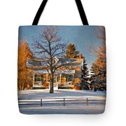 Country Home Oil Tote Bag