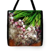 Country Kitchen - Onions Tote Bag