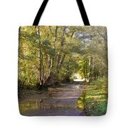 Country Lane In Autumn 3 Tote Bag