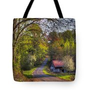 Country Lanes Tote Bag