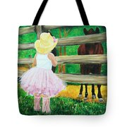 Country Meets City Tote Bag