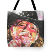 Country Music Artist...willie Nelson Tote Bag