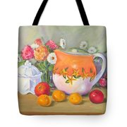 Country Pitcher With Sugar Bowl Tote Bag