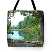 Country Pond Tote Bag