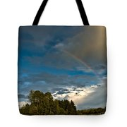 Country Rainbow Tote Bag