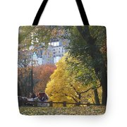 Country Ride In The City Tote Bag