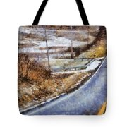 Country Roads In Ohio Tote Bag