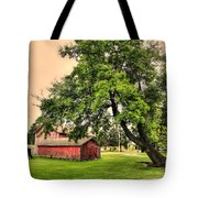 Country Scene Tote Bag by Kathleen Struckle