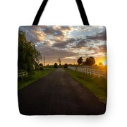 Country Setting Tote Bag