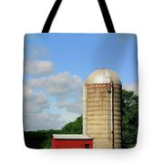 Country Silo Tote Bag