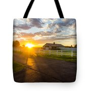 Country Skies Tote Bag