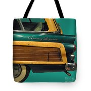 Country Squire Wagon Tote Bag