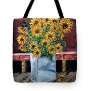 Country Still Life Tote Bag