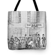 Country Store, 1847 Tote Bag