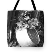 Country Summer - Bw 02 Tote Bag
