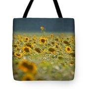 Country Sunflowers Tote Bag