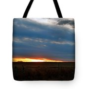 Country Sunset Tote Bag