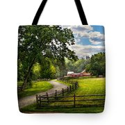 Country - The Pasture  Tote Bag