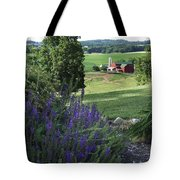 Country Valley Tote Bag