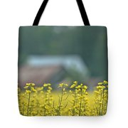 Country Yellow Tote Bag
