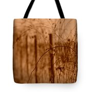 Countryside Fence Tote Bag