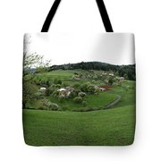 Countryside Landscape Tote Bag