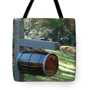 Countryside Mailbox #10 Tote Bag