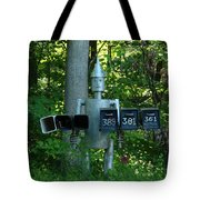 Countryside Mailbox #11 Tote Bag