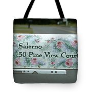 Countryside Mailbox #22 Tote Bag