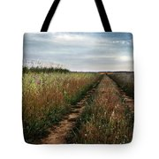 Countryside Tracks Tote Bag