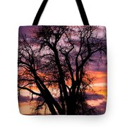 County Sunset Tote Bag