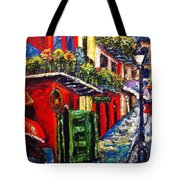 Couple In Pirate's Alley Tote Bag