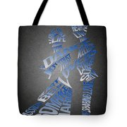 Couple Love Typography Tote Bag