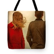 Couple With Relationship Problems Tote Bag