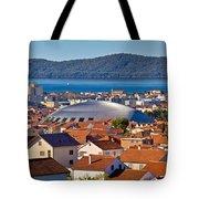 Coupola Sports Hall Landmark In Zadar Tote Bag