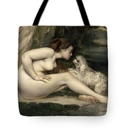 Courbet Nude Tote Bag