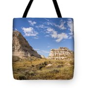 Courthouse And Jail Rocks - Bridgeport Nebraska Tote Bag