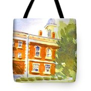 Courthouse In August Sun Tote Bag
