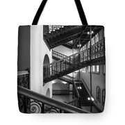 Courthouse Staircases Tote Bag