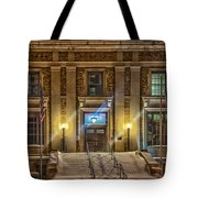 Courthouse Steps Tote Bag