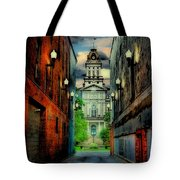 Courthouse Tote Bag by Tom Mc Nemar