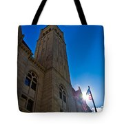 Courthouse Tower Tote Bag