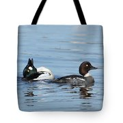 Courting Common Golden Eyes Tote Bag