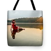 Courtney On The Water Tote Bag