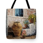 Courtyard 2 Tote Bag